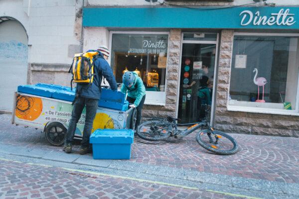 Collecte restaurant Tricyclerie Nantes