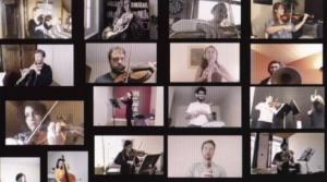 concert orchestre par internet
