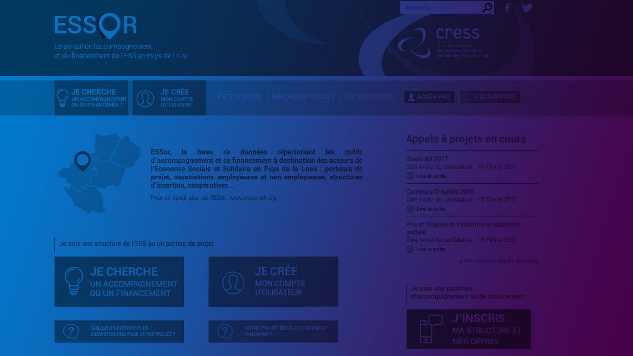 ESSor : une nouvelle version à découvrir en ligne