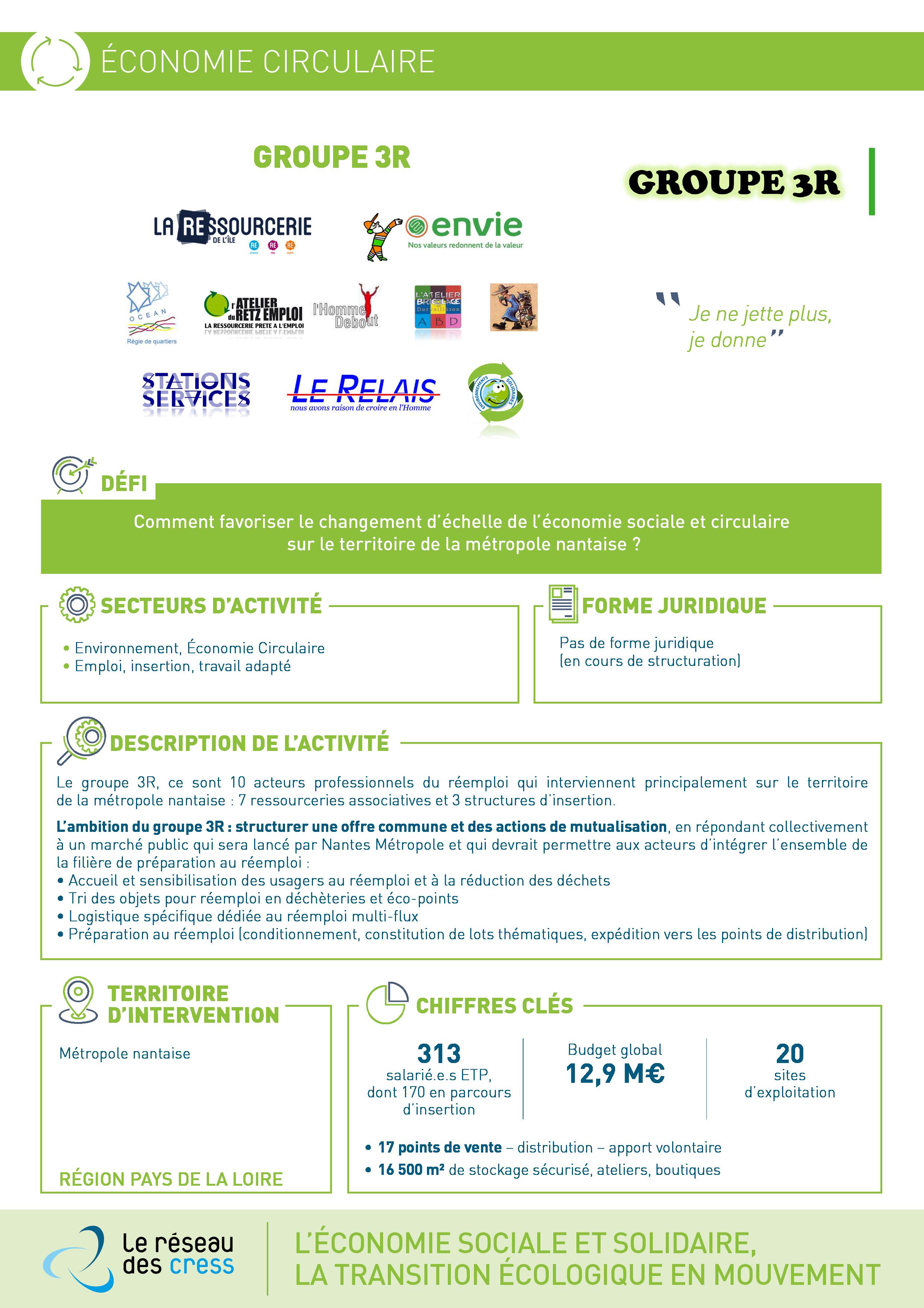 Fiche initiative GROUPE 3R - Loire-Atlantique